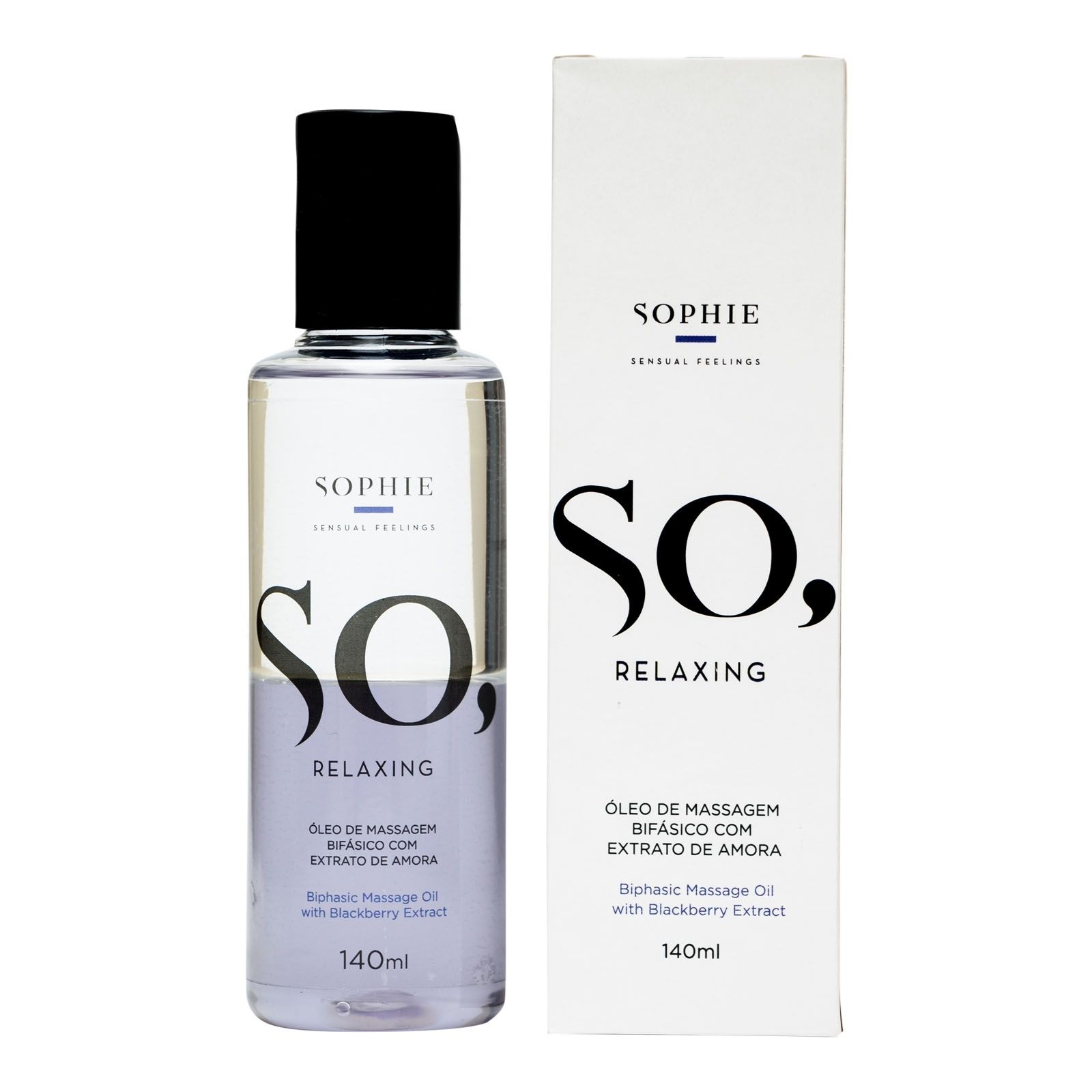 Óleo de Massagem Bifásico - So Relaxing 140ml - Sophie
