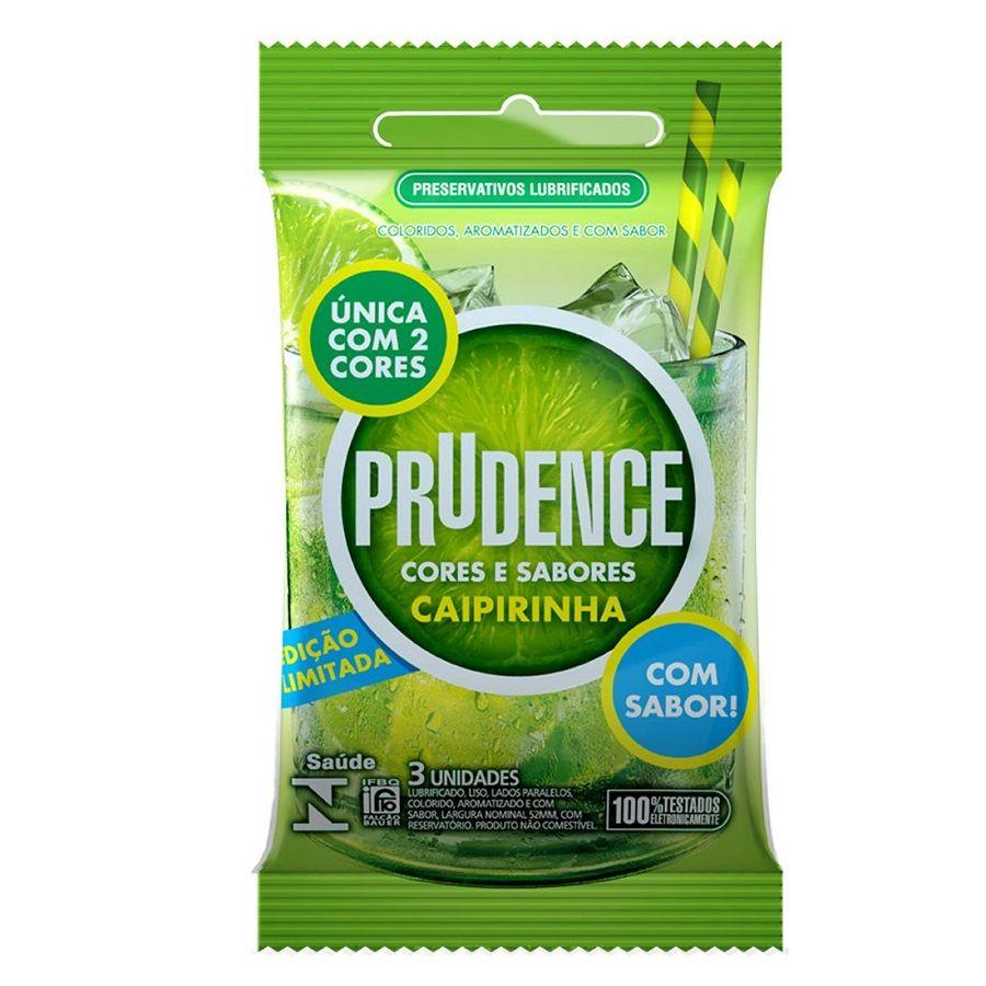 Preservativo Caipirinha com 3 unidades - Prudence