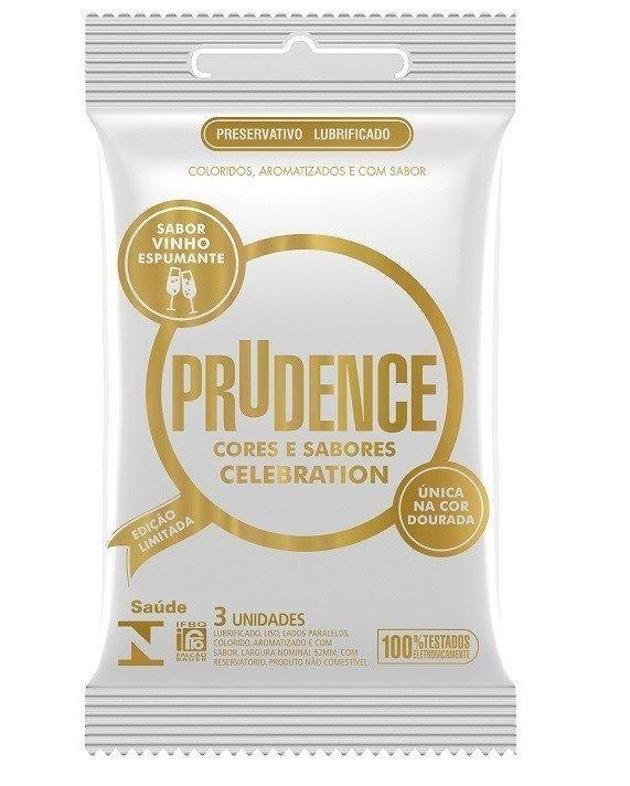 Preservativo Cores e Sabores Celebration 3 unidades - Prudence
