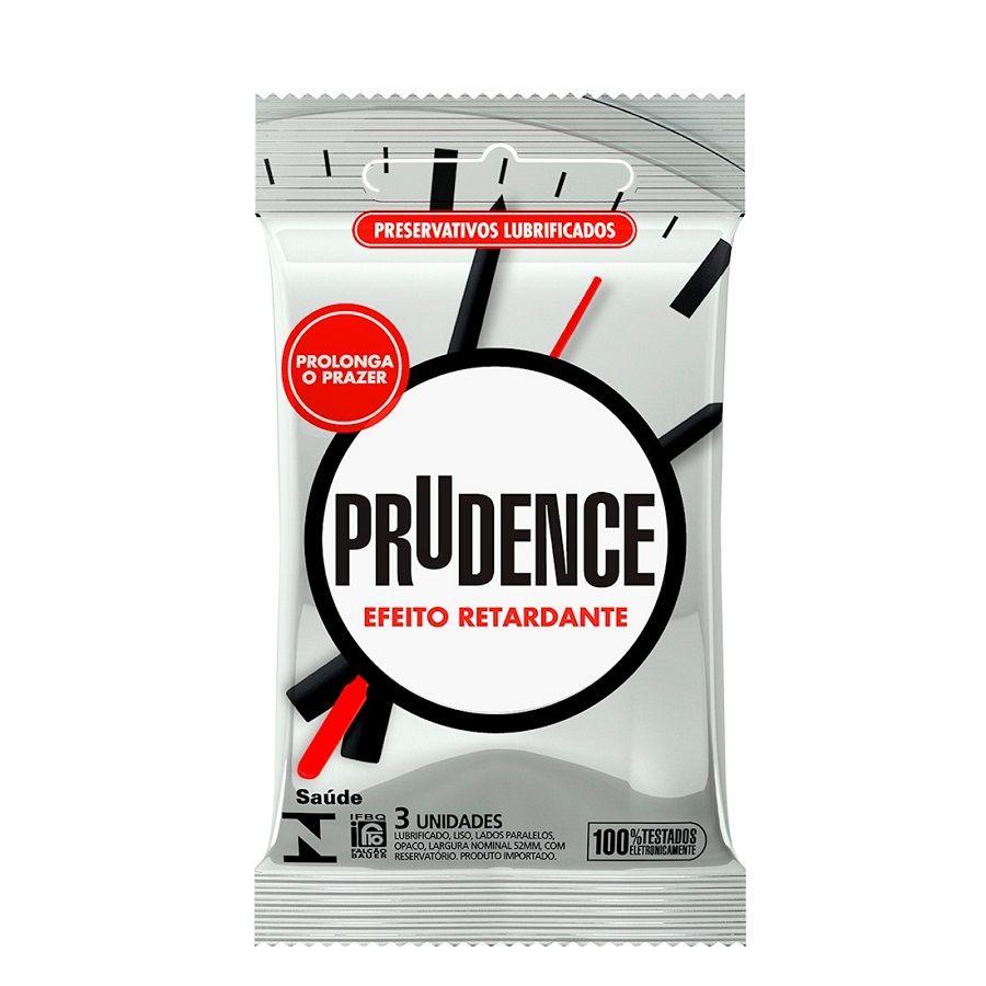 Preservativo Efeito Retardante com 3 unidades - Prudence