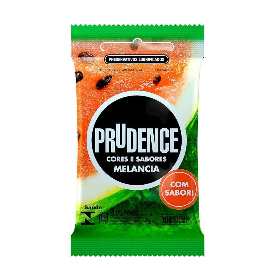 Preservativo Melancia com 3 unidades - Prudence