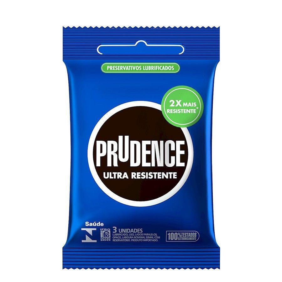 Preservativo Ultra Resistente com 3 unidades - Prudence