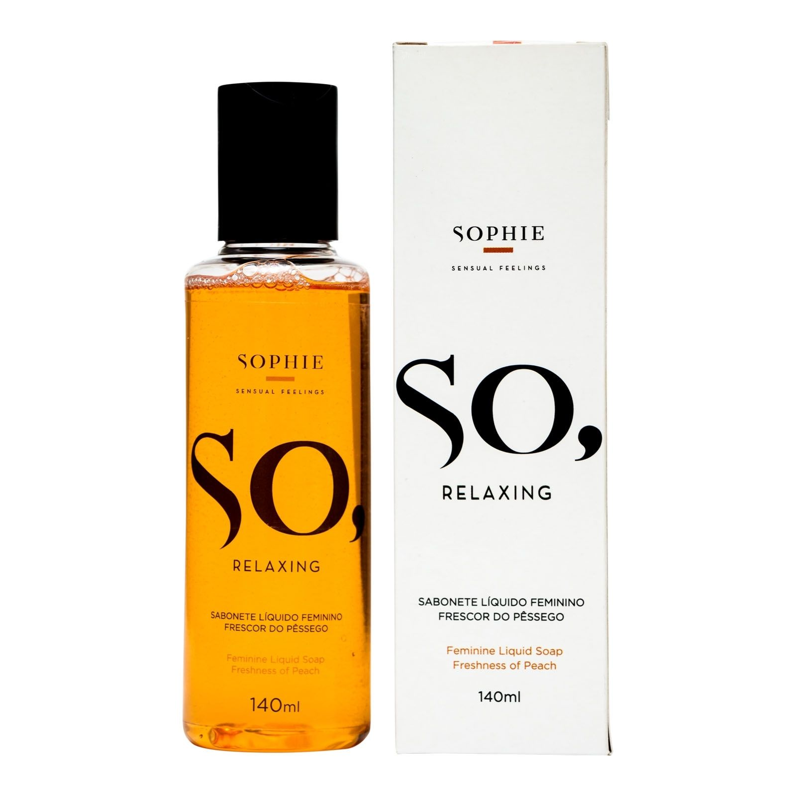 Sabonete Líquido Feminino - So Relaxing 140ml - Sophie