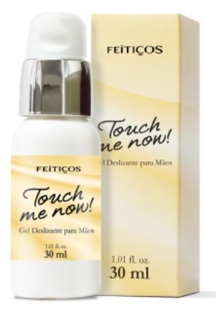 Touch Me Now Gel Deslizante para Mãos - Feitiços