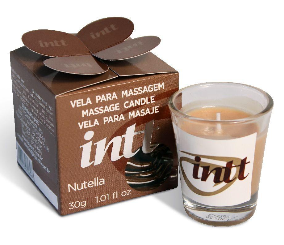 Vela de Massagem Beijável Nutella-INTT