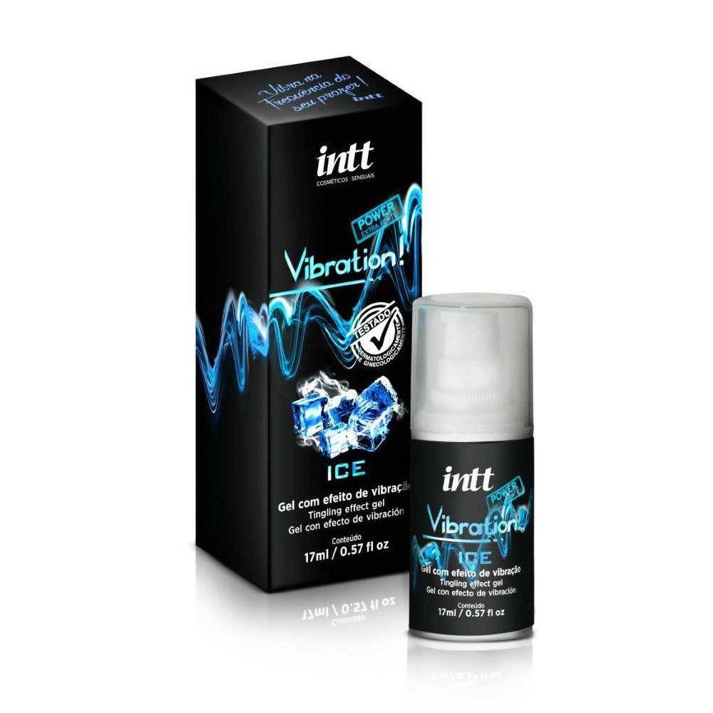 Vibrador Líquido Vibration Ice Power Extra Forte 17gr - INTT