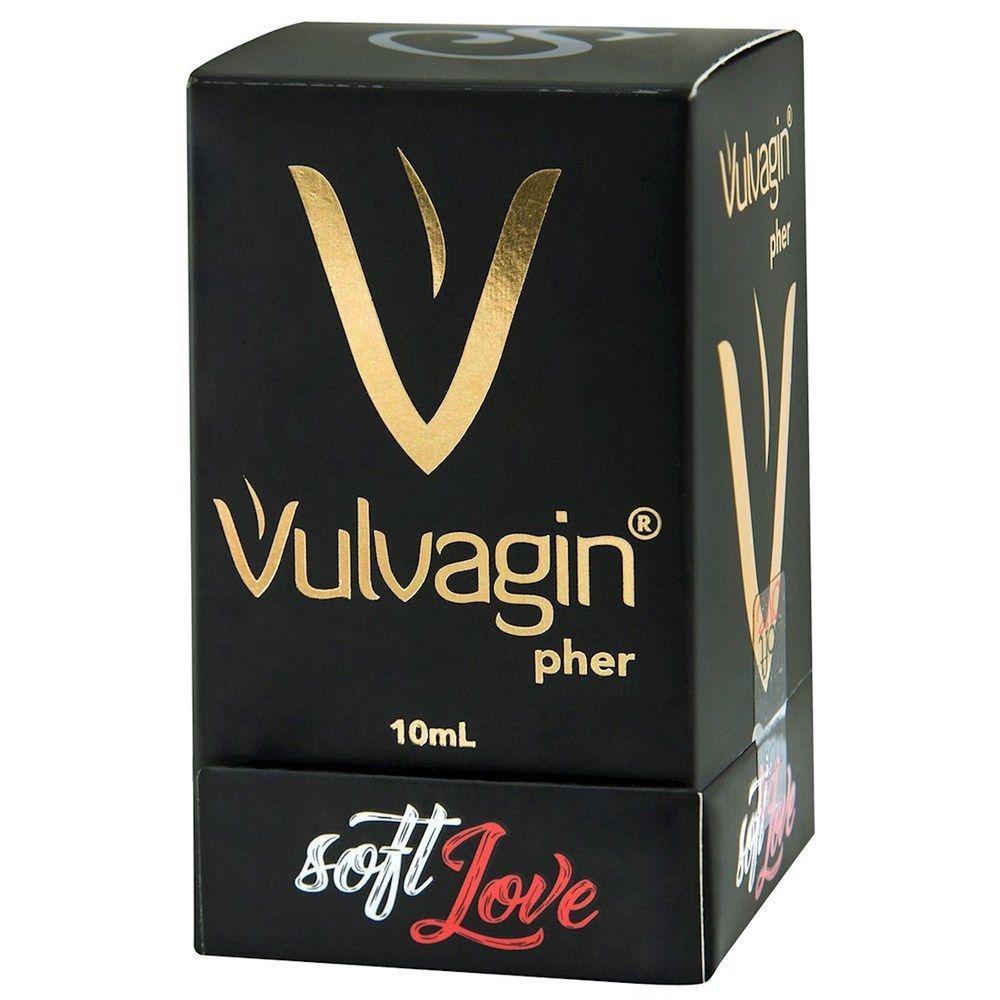 Vulvagin Perfume Light Blue Feromônio 10 ml - Soft Love
