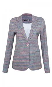 Blazer Clássico Tweed Quartzo