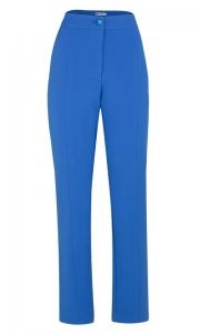 Calça Social Alfaiataria Slim Azul Maya - Elisa
