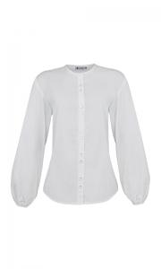 Número 19 - Camisa Padre Tricoline Branca
