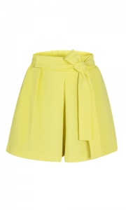 Short Clochard Social Alfaiataria Amarelo