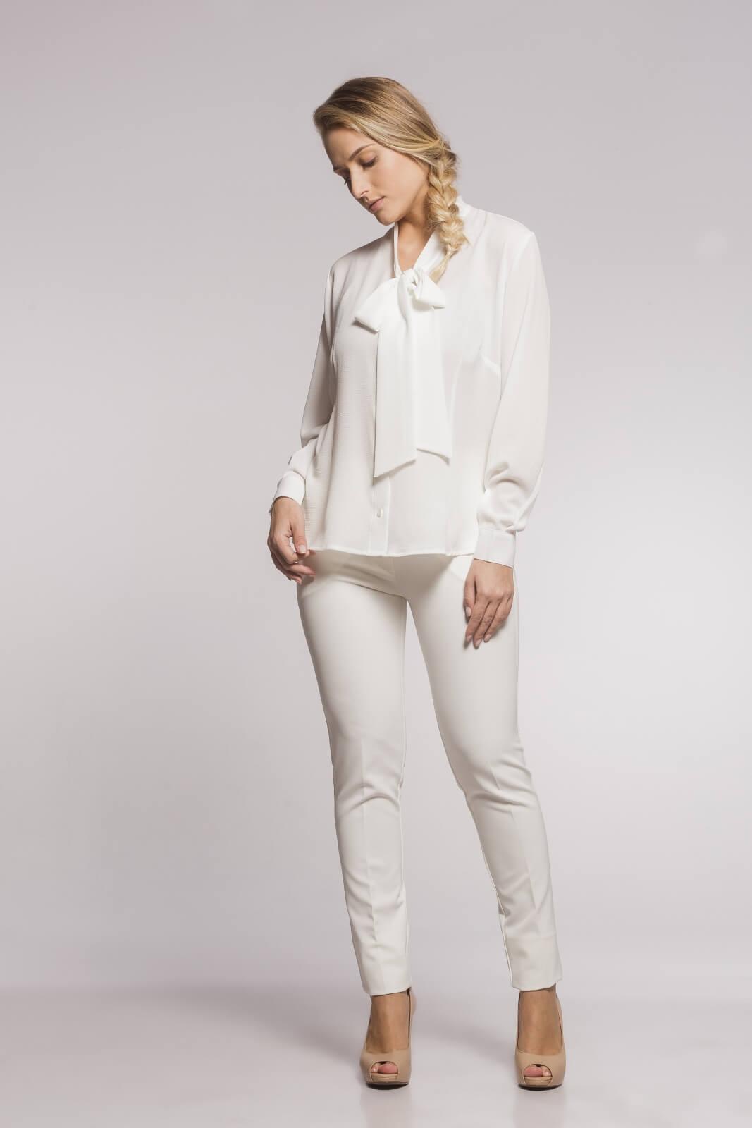 Calça Social Alfaiataria Off White
