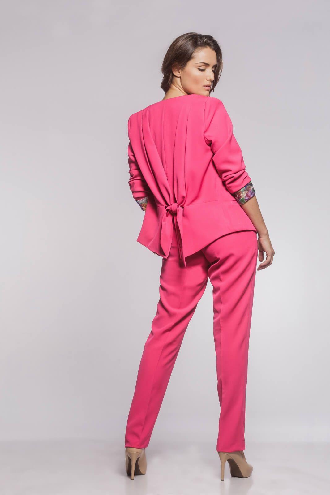 Calça Social Alfaiataria Rosa Pink