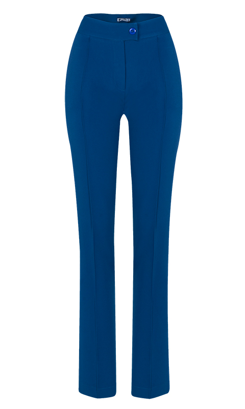 Calça Social Skinny Alfaiataria Azul Petróleo