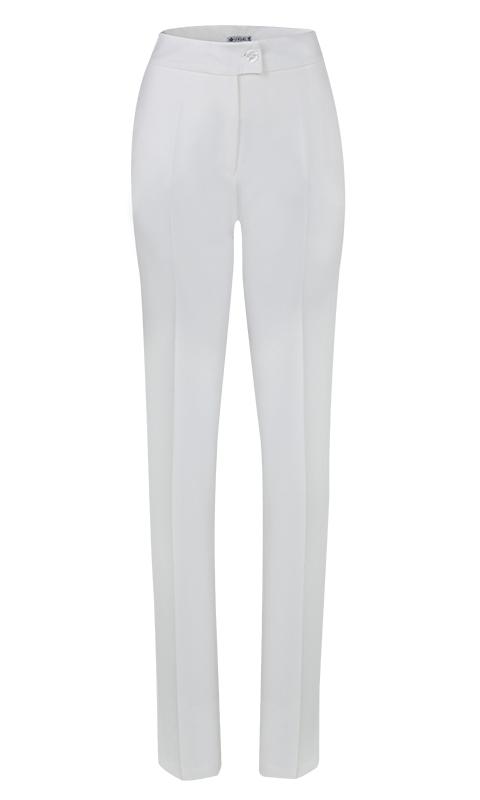 Calça Social Skinny Alfaiataria Off White