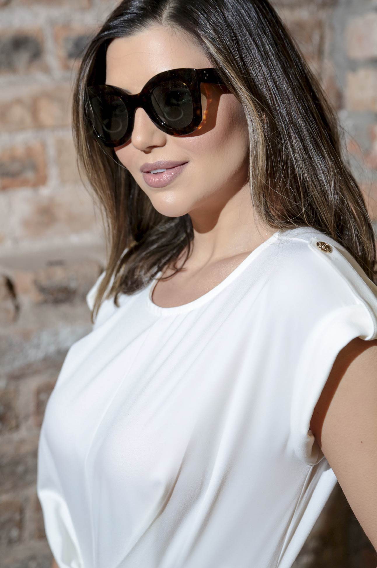 Macacão Longo Social Alfaiataria Feminina Off White
