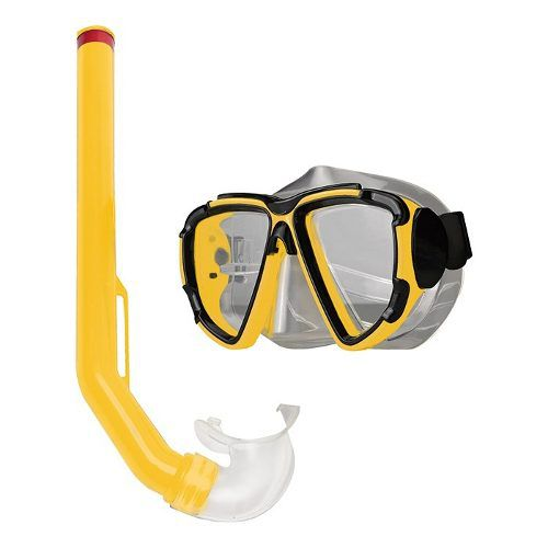 Kit Mergulho Adulto ou Juvenil Com Mascara + Snorkel Promoção