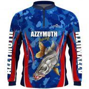 Camisa Pesca Manga Longa Robalo Azzymuth Dry Fit