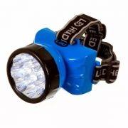 Lanterna De Cabeça 12 Leds Forte C/ Ajuste
