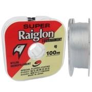 Linha Marine Sports Super Raiglon Branca 0,26mm - 6,91 Kg
