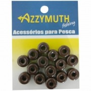 Miçangão Para Pesca Azzymuth Cor Café