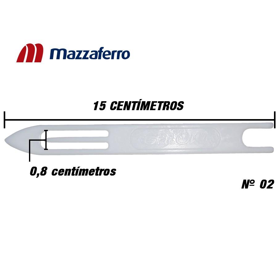 Agulha Para Rede Tarrafa - Linha Grilon Nº 2 (15,0cm)
