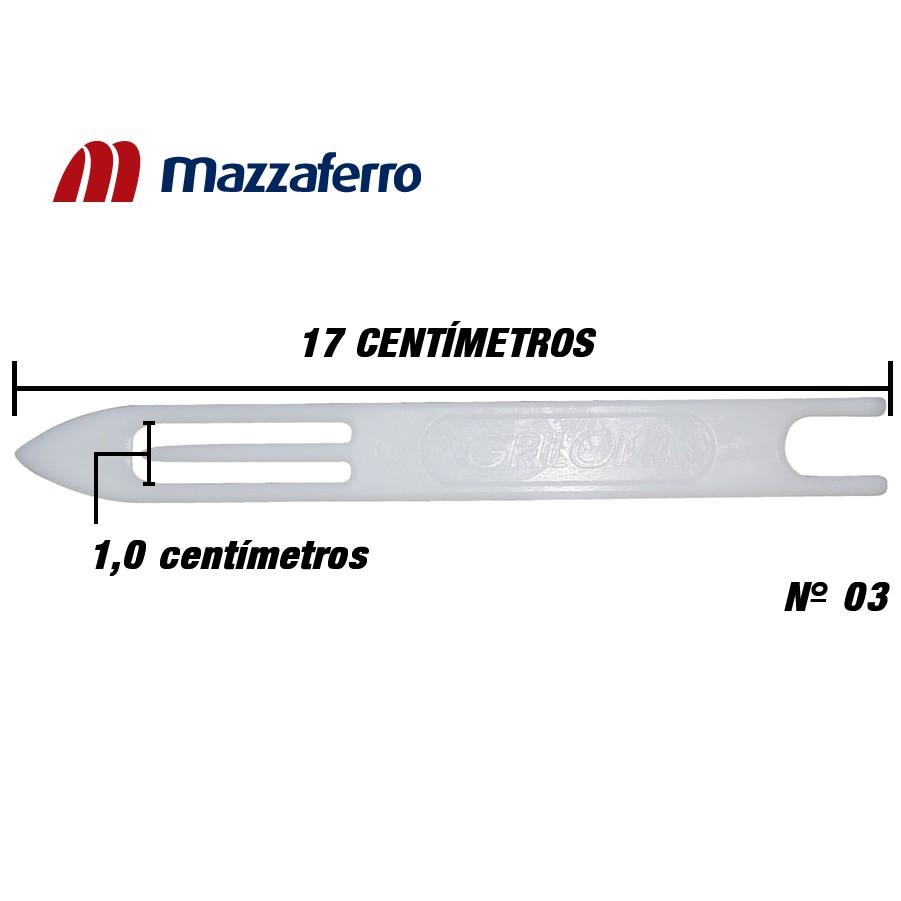 Agulha Para Rede Tarrafa - Linha Grilon Nº 3 (17,0cm)