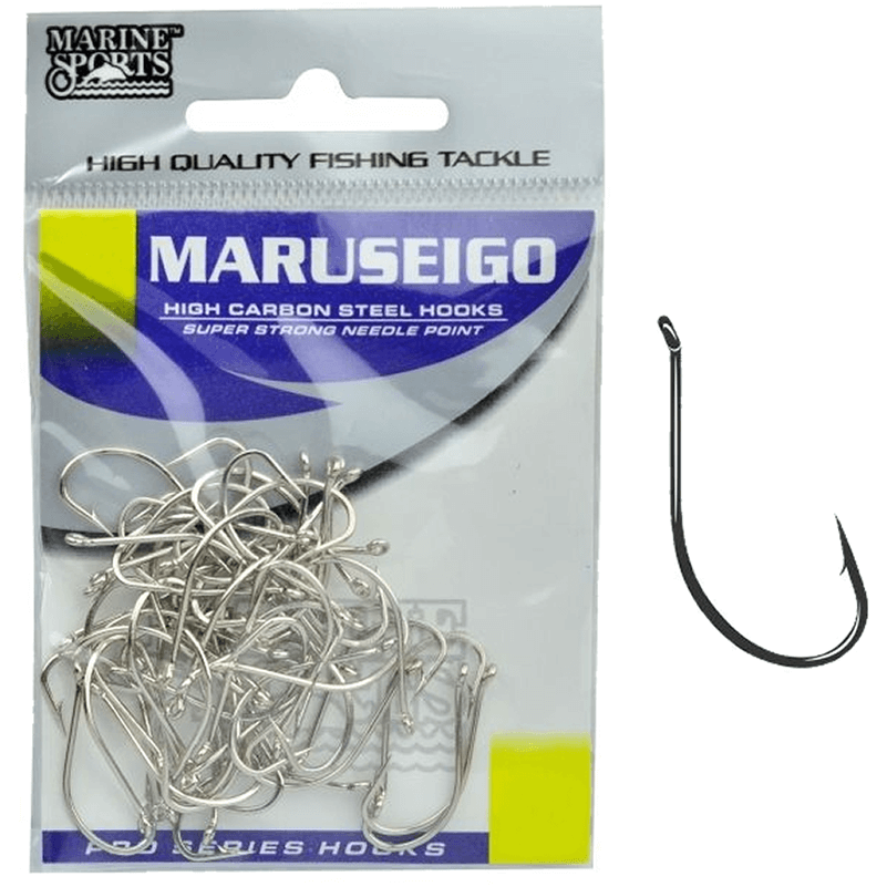 Anzol Marine Sports Maruseigo Nº  6, 8, 10, 12, 14, 16 - C/50
