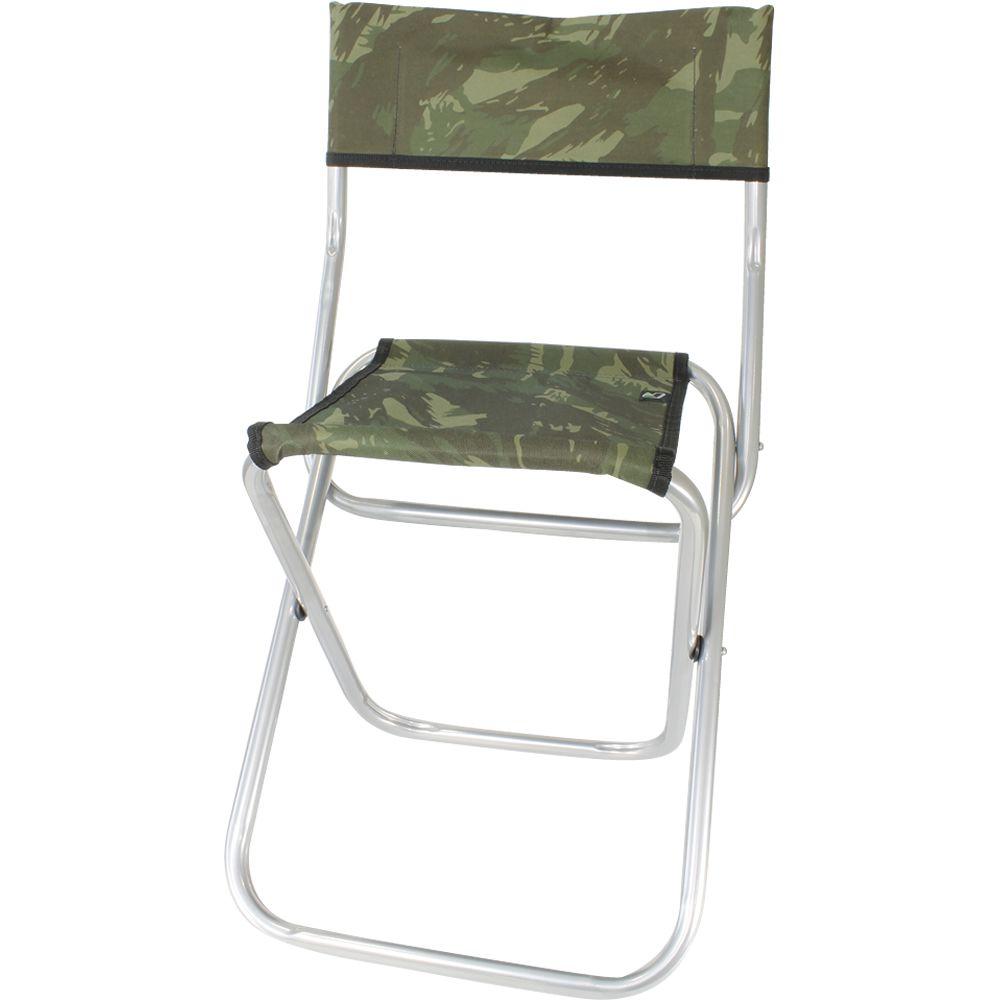 Cadeira Dobrável De Aço Suporta Até 105 kilos