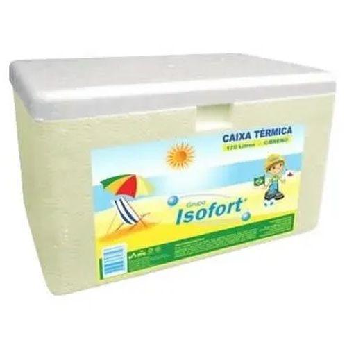 Caixa Térmica De Isopor 003 Litros Isofort