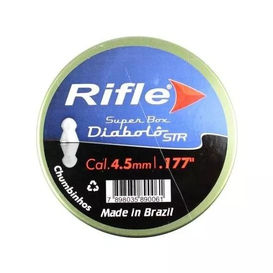 Chumbinho Rifle Diabolô 4,5mm - C/ 250