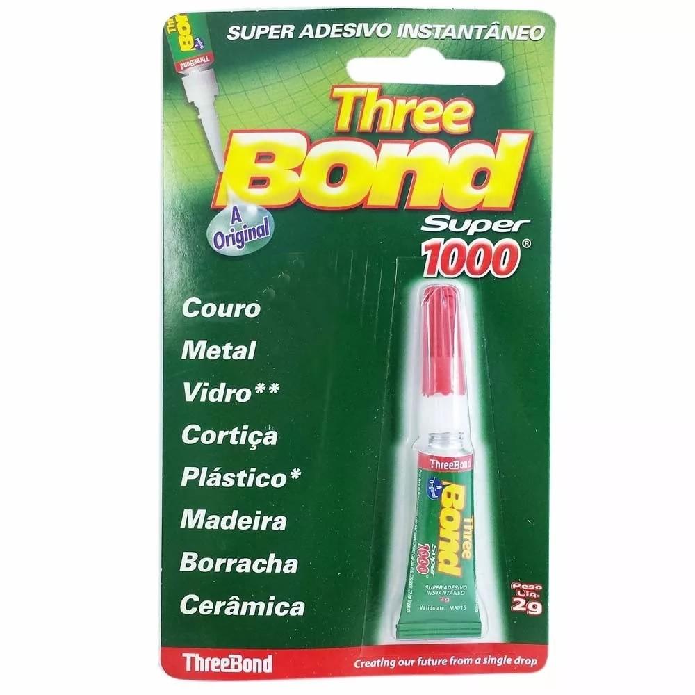 Cola Three Bond Super 1000 - 2gr