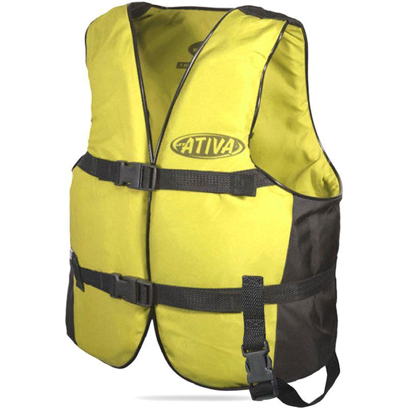 Colete Salva Vidas Auxiliar De Flutuação Jt Ativa Canoa 40kg