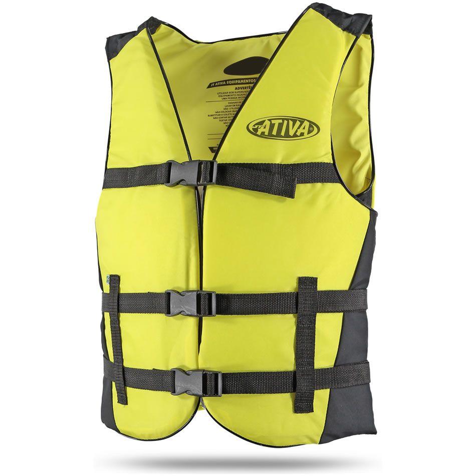Colete Salva Vidas Auxiliar De Flutuação Jt Ativa Canoa 70kg