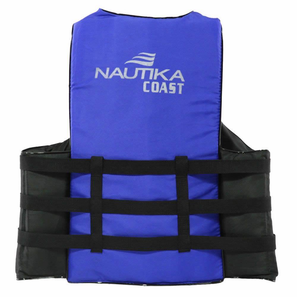 Colete Salva Vidas Auxiliar De Flutuação Nautika Coast 100kg