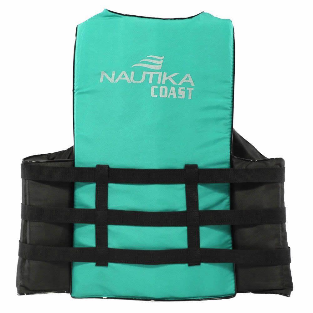 Colete Salva Vidas Auxiliar De Flutuação Nautika Coast 120kg