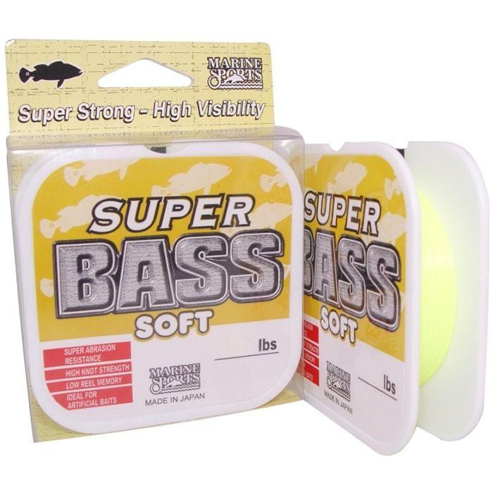 Linha Marine Sports Super Bass Soft Amarelo 0,37mm 250m