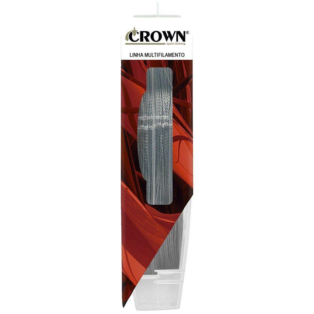 Linha Multifilamento Crown Fiber Flex 8x 100 Metros
