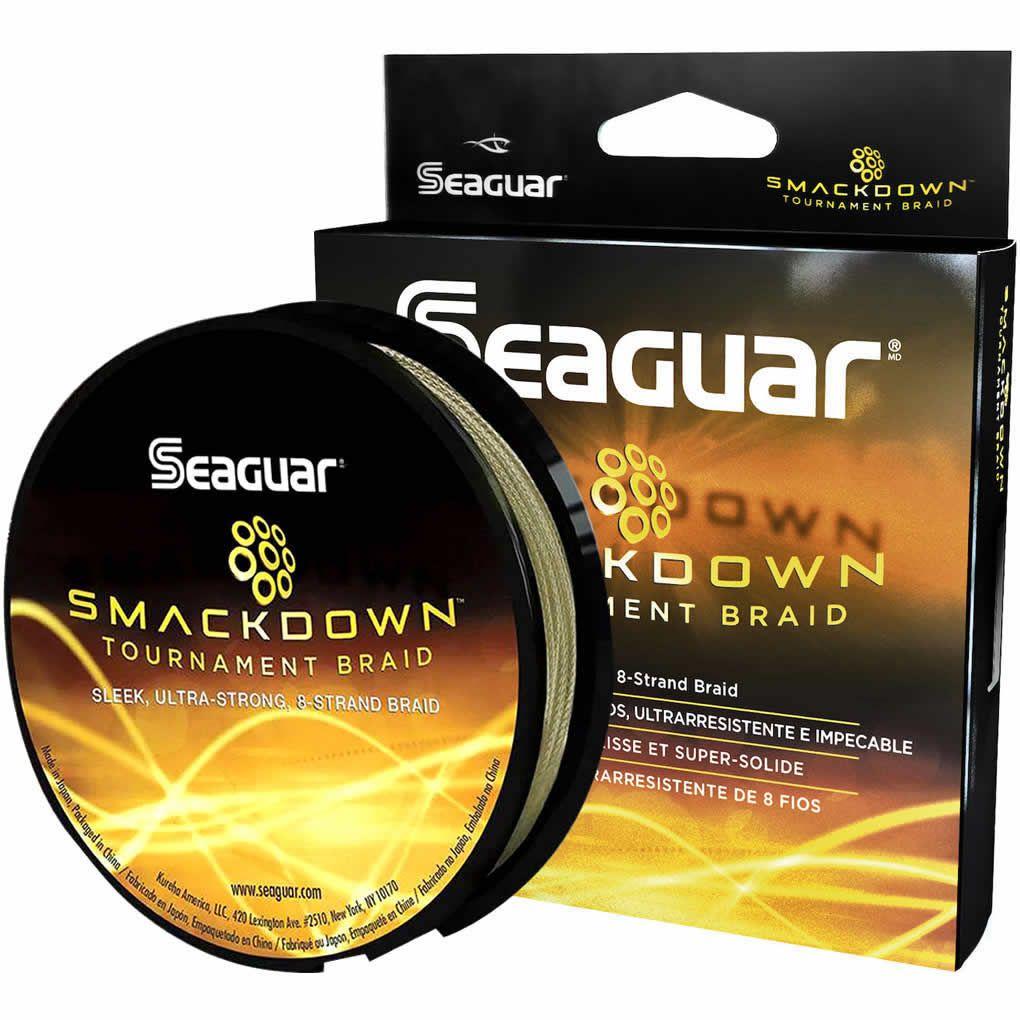 Linha Multifilamento Seaguar Smackdown Amarelo 137 m