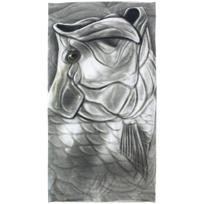 Mascara De Proteção Bandana Sol Uv Pesca Albatroz Cor Peixe