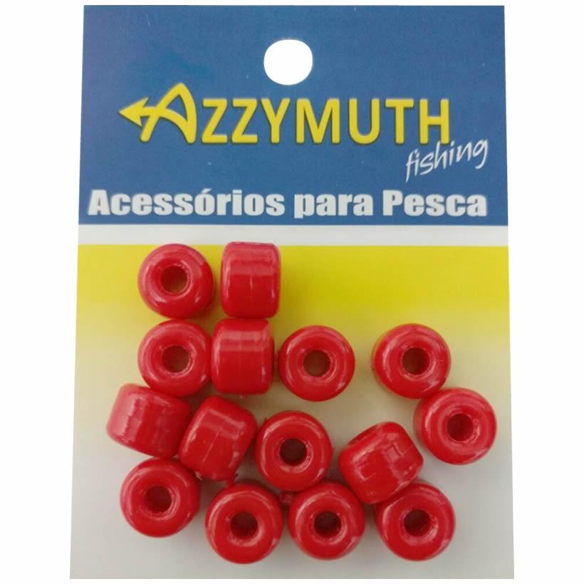 Miçangão Para Pesca Azzymuth Cor Vermelho