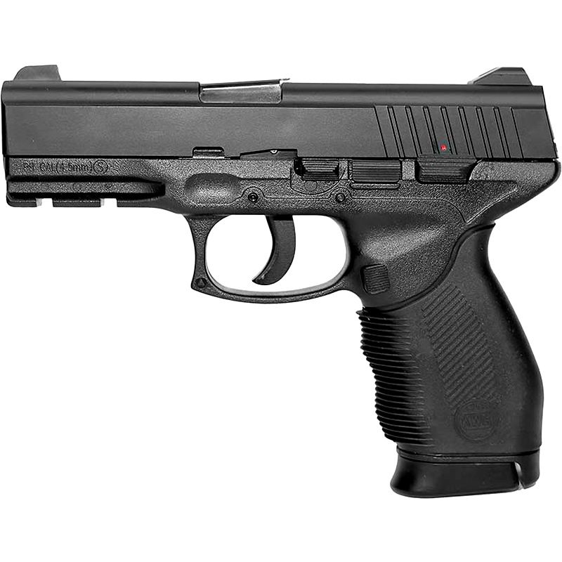 Pistola Airgun Rossi Mola Slide Metal Kwc 24/7 4.5 Mm