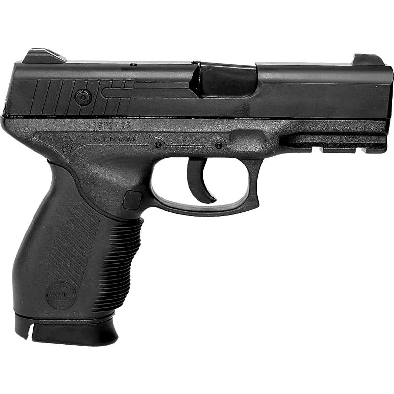 PISTOLA AIRGUN ROSSI MOLA SLIDE METAL KWC 24/7 4.5MM