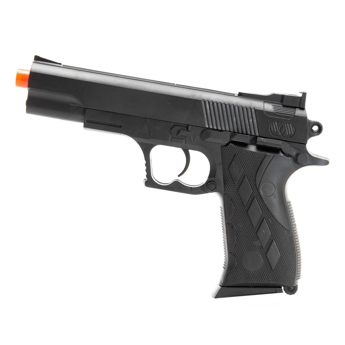 PISTOLA AIRSOFT ROSSI MOLA PP VG 1911 SW 2122A1 6MM