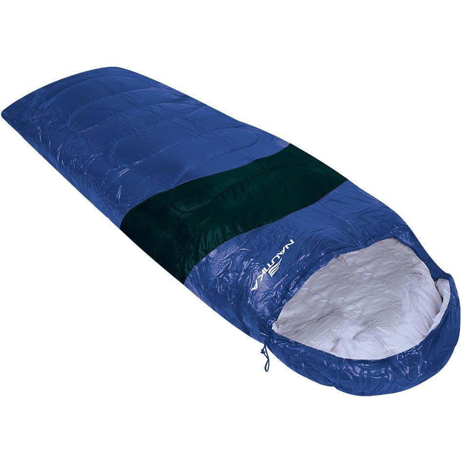 Saco De Dormir Nautika Viper 5º A 12º Azul/preto