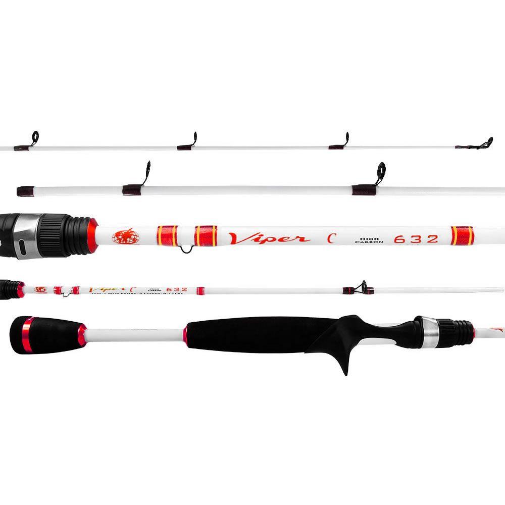 Vara Albatroz Carretilha Viper II 1.80 m 10-20 lbs Inteiriça
