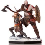 Kratos and Atreus God Of War - Iron Studios Deluxe - 1/10