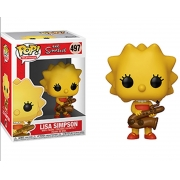 Lisa Simpson 497 - The Simpsons - Funko Pop Television