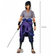 Sasuke Uchiha Naruto Shippuden Grandista Nero - Banpresto