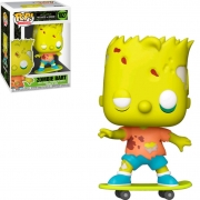 Zombie Bart 1027 - The Simpsons Treehouse Of Horror - Funko Pop Television